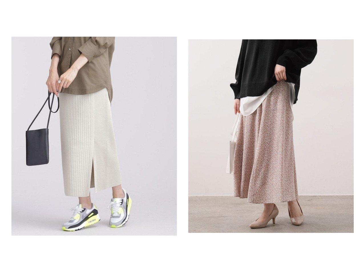 【nano universe/ナノ ユニバース】の思いきり洗えるニット サイドスリットスカート&【VIS/ビス】の切替マーメイドスカート スカートのおすすめ!人気、トレンド・レディースファッションの通販  おすすめで人気の流行・トレンド、ファッションの通販商品 メンズファッション・キッズファッション・インテリア・家具・レディースファッション・服の通販 founy(ファニー) https://founy.com/ ファッション Fashion レディースファッション WOMEN スカート Skirt アクリル 洗える カットソー コンパクト スタンダード セットアップ ロング NEW・新作・新着・新入荷 New Arrivals フィット フラワー マーメイド 冬 Winter 切替 春 Spring  ID:crp329100000010782