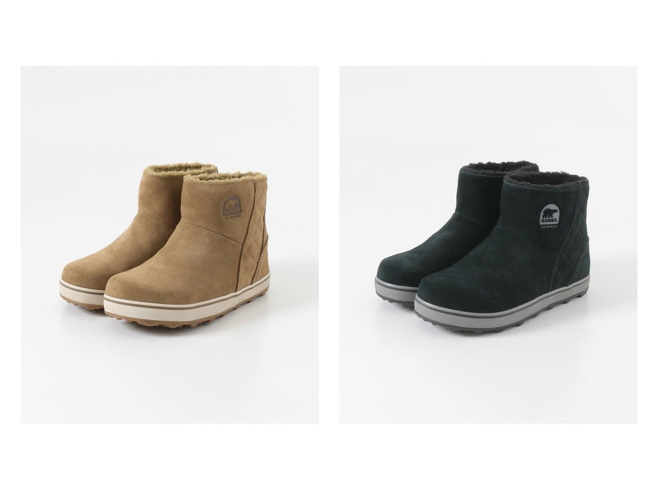 【URBAN RESEARCH DOORS/アーバンリサーチ ドアーズ】のSOREL GLACY SHORT シューズ・靴のおすすめ!人気、トレンド・レディースファッションの通販  おすすめで人気の流行・トレンド、ファッションの通販商品 メンズファッション・キッズファッション・インテリア・家具・レディースファッション・服の通販 founy(ファニー) https://founy.com/ ファッション Fashion レディースファッション WOMEN インソール クッション 軽量 シューズ ショート スエード スタンダード バランス フェミニン フェルト ボトム ライニング ラバー ワイド |ID:crp329100000010831