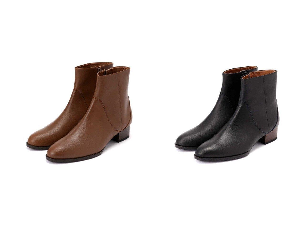 【HUMAN WOMAN/ヒューマンウーマン】のレザーショートブーツ シューズ・靴のおすすめ!人気、トレンド・レディースファッションの通販  おすすめで人気の流行・トレンド、ファッションの通販商品 メンズファッション・キッズファッション・インテリア・家具・レディースファッション・服の通販 founy(ファニー) https://founy.com/ ファッション Fashion レディースファッション WOMEN クッション シューズ タイツ |ID:crp329100000010834