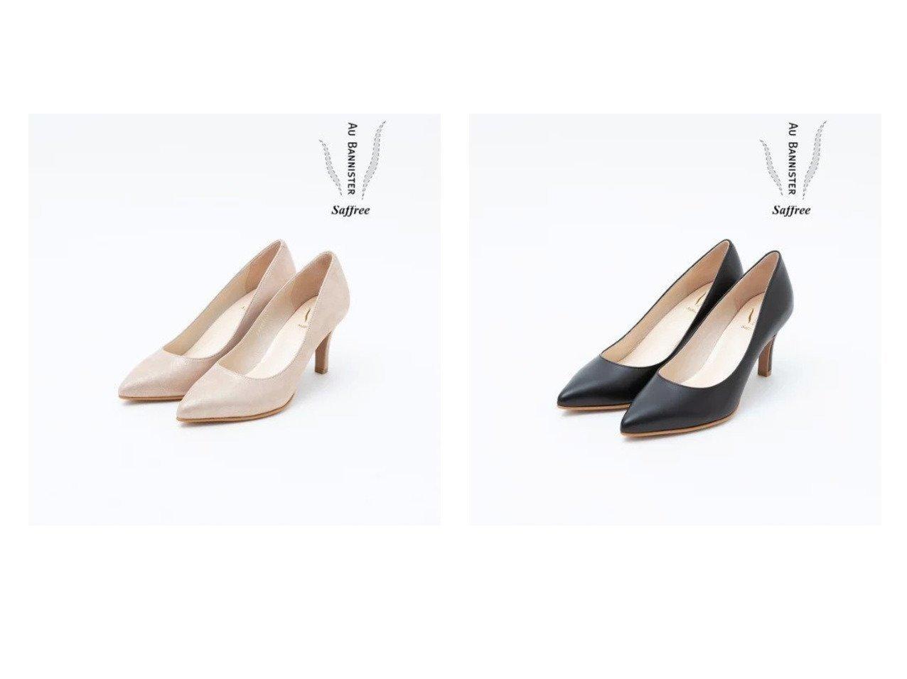【Au BANNISTER/オゥ バニスター】のSaffreeハイヒールパンプス シューズ・靴のおすすめ!人気、トレンド・レディースファッションの通販  おすすめで人気の流行・トレンド、ファッションの通販商品 メンズファッション・キッズファッション・インテリア・家具・レディースファッション・服の通販 founy(ファニー) https://founy.com/ ファッション Fashion レディースファッション WOMEN インソール シューズ ダウン デニム ハイヒール 人気 春 Spring |ID:crp329100000010839