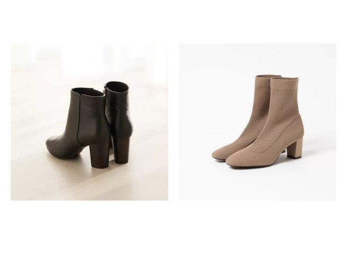 【Piche Abahouse/ピシェ アバハウス】の7cmチャンキーヒールショートブーツ&ニット ソックスブーツ シューズ・靴のおすすめ!人気、トレンド・レディースファッションの通販  おすすめファッション通販アイテム インテリア・キッズ・メンズ・レディースファッション・服の通販 founy(ファニー) https://founy.com/ ファッション Fashion レディースファッション WOMEN ソックス Socks シューズ ソックス フィット ベーシック ミドル 楽ちん インソール クッション ショート シンプル スタンダード フェミニン フォルム |ID:crp329100000010847