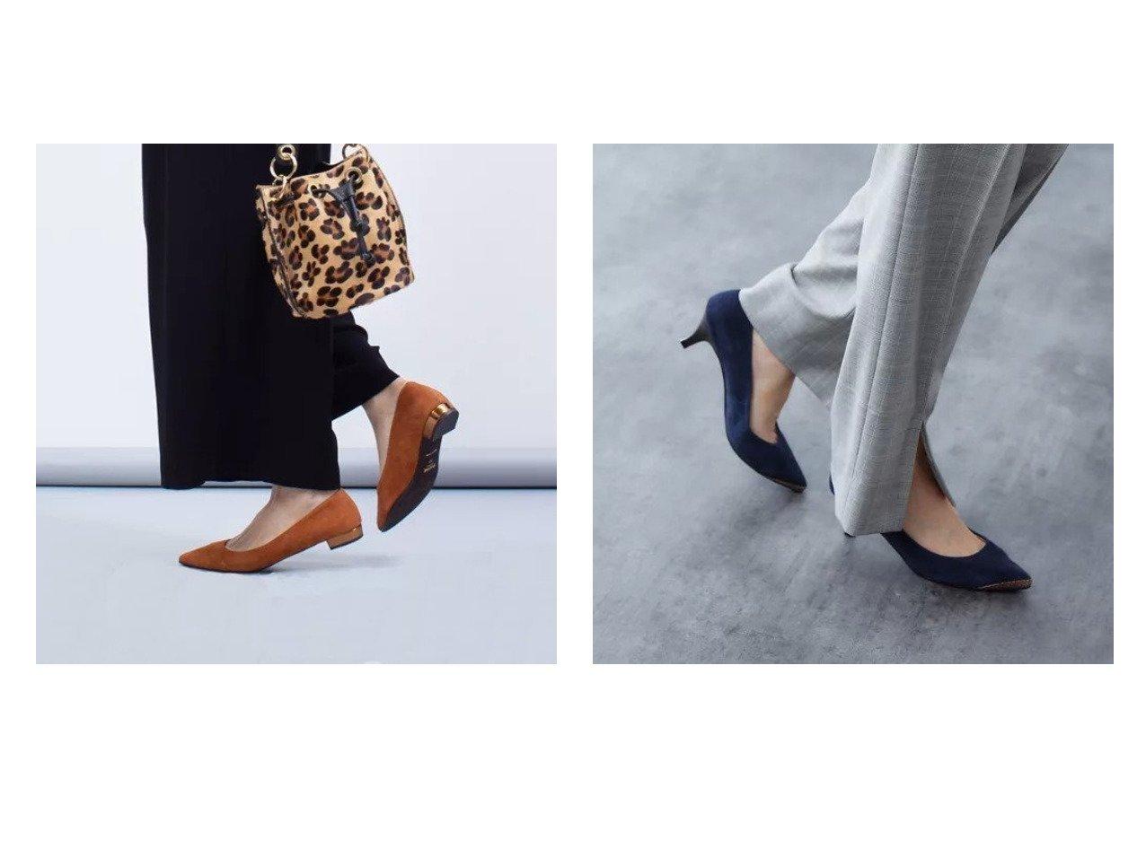 【Piche Abahouse/ピシェ アバハウス】の【伝説のベストセラーパンプス】fluffy fit ポインテッドパンプス&fluffy fit フラットパンプス シューズ・靴のおすすめ!人気、トレンド・レディースファッションの通販  おすすめで人気の流行・トレンド、ファッションの通販商品 メンズファッション・キッズファッション・インテリア・家具・レディースファッション・服の通販 founy(ファニー) https://founy.com/ ファッション Fashion レディースファッション WOMEN アウター Coat Outerwear インソール クッション シューズ シンプル スエード チェック フォーマル フラット ベーシック メタリック A/W 秋冬 AW Autumn/Winter / FW Fall-Winter |ID:crp329100000010848