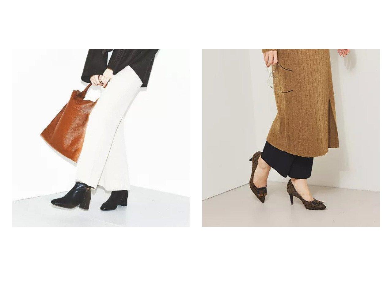 【Piche Abahouse/ピシェ アバハウス】のプレートモチーフパンプス&【スノーソール】5cmスクエアトゥショートブーツ シューズ・靴のおすすめ!人気、トレンド・レディースファッションの通販  おすすめで人気の流行・トレンド、ファッションの通販商品 メンズファッション・キッズファッション・インテリア・家具・レディースファッション・服の通販 founy(ファニー) https://founy.com/ ファッション Fashion レディースファッション WOMEN インソール クッション シューズ 人気 ミドル 楽ちん チェック ブロック プレート モチーフ ワンポイント 今季 |ID:crp329100000010852