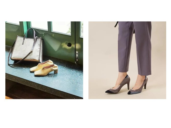【Piche Abahouse/ピシェ アバハウス】のワイドスクエアトゥ パンプス&【Au BANNISTER/オゥ バニスター】のSaffree パッチワーク ハイヒールパンプス シューズ・靴のおすすめ!人気、トレンド・レディースファッションの通販  おすすめファッション通販アイテム レディースファッション・服の通販 founy(ファニー) ファッション Fashion レディースファッション WOMEN インソール 秋 Autumn/Fall シューズ 定番 Standard 人気 ハイヒール パッチワーク ドット ヌーディ ベーシック 今季 冬 Winter 春 Spring 楽ちん |ID:crp329100000010854