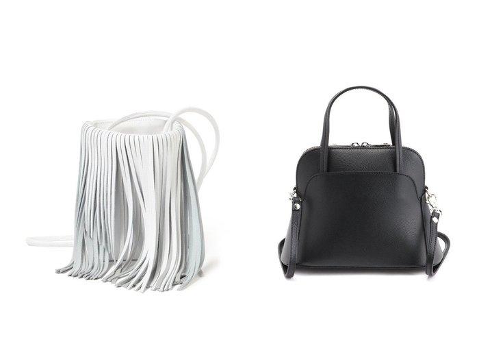 【Demi-Luxe BEAMS/デミルクス ビームス】のPuli フリンジ サコッシュ&【AULENTTI/オウレンティ】のショルダーBAG バッグ・鞄のおすすめ!人気、トレンド・レディースファッションの通販  おすすめファッション通販アイテム レディースファッション・服の通販 founy(ファニー) ファッション Fashion レディースファッション WOMEN バッグ Bag NEW・新作・新着・新入荷 New Arrivals 2020年 2020 2020-2021 秋冬 A/W AW Autumn/Winter / FW Fall-Winter 2020-2021 A/W 秋冬 AW Autumn/Winter / FW Fall-Winter イタリア クラシック コンパクト ショルダー トレンド ハンドバック フォルム フリンジ |ID:crp329100000010881