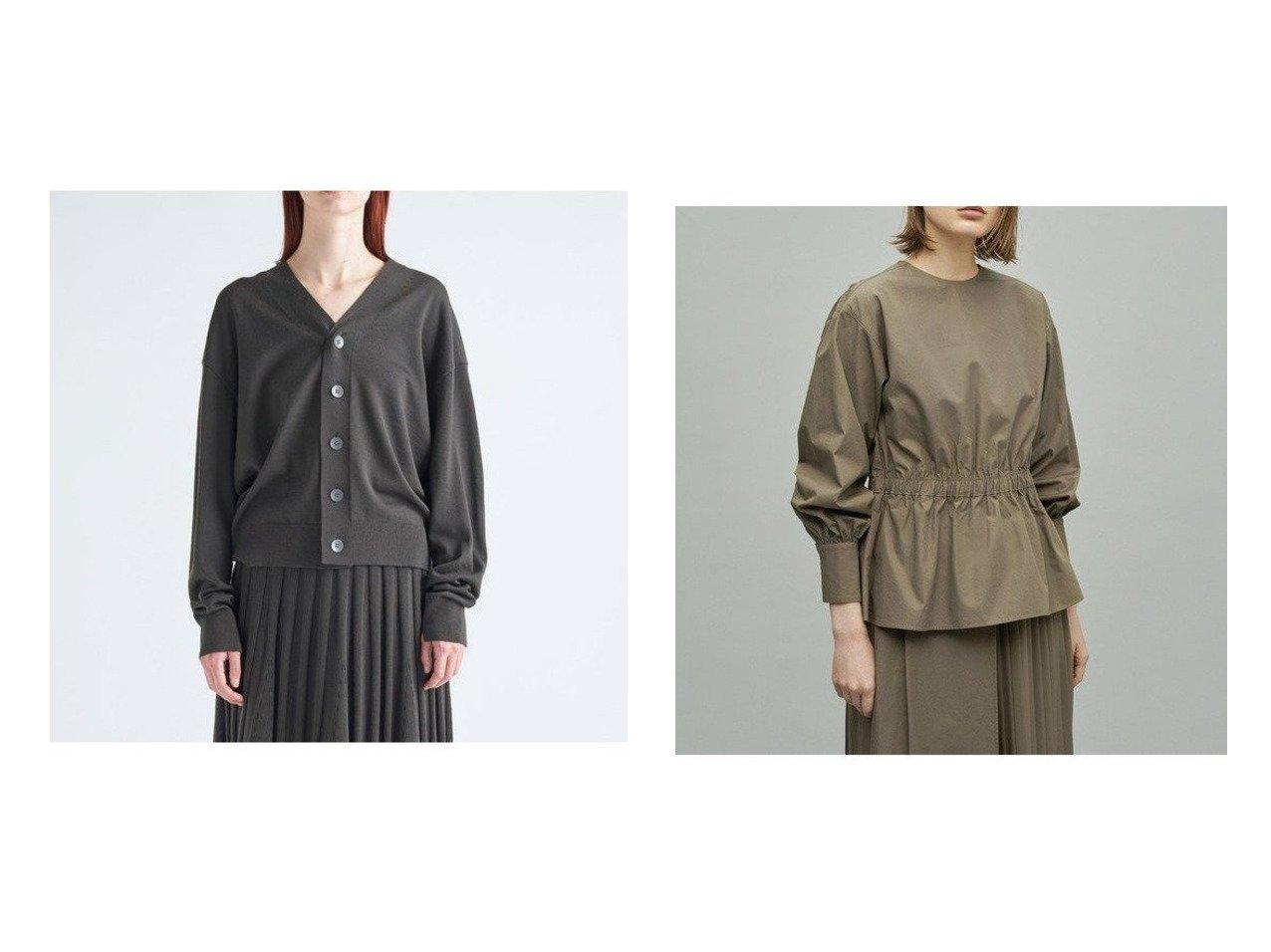 【ATON/エイトン】のオーバーサイズカーディガン(UNISEX)&【uncrave/アンクレイヴ】のコットンペプラム ブラウス トップス・カットソーのおすすめ!人気、トレンド・レディースファッションの通販 おすすめで人気の流行・トレンド、ファッションの通販商品 メンズファッション・キッズファッション・インテリア・家具・レディースファッション・服の通販 founy(ファニー) https://founy.com/ ファッション Fashion レディースファッション WOMEN トップス Tops Tshirt カーディガン Cardigans シャツ/ブラウス Shirts Blouses カーディガン ギャザー パターン ベーシック メンズ UNISEX 送料無料 Free Shipping コンシャス タイプライター ペプラム  ID:crp329100000011127