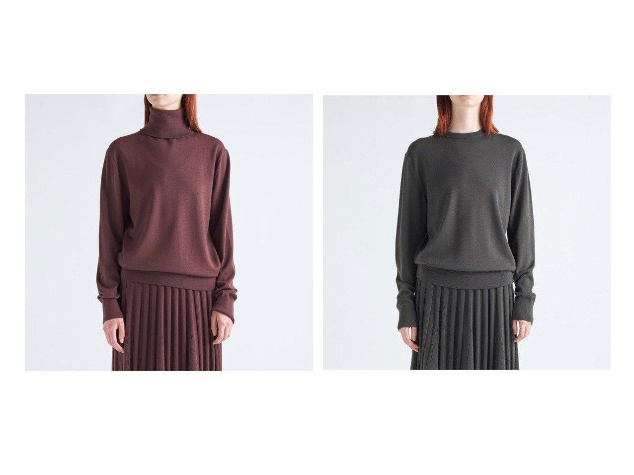 【ATON/エイトン】のクルーネックセーター(UNISEX)&タートルネックセーター(UNISEX) トップス・カットソーのおすすめ!人気、トレンド・レディースファッションの通販 おすすめで人気の流行・トレンド、ファッションの通販商品 メンズファッション・キッズファッション・インテリア・家具・レディースファッション・服の通販 founy(ファニー) https://founy.com/ ファッション Fashion レディースファッション WOMEN トップス Tops Tshirt タートルネック Turtleneck ギャザー セーター タートル タートルネック パターン ベーシック メンズ UNISEX レギュラー 送料無料 Free Shipping |ID:crp329100000011137
