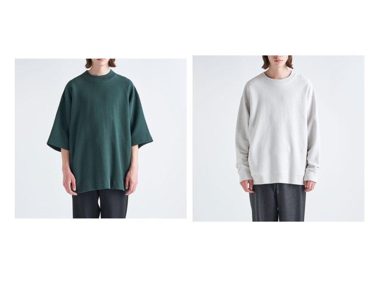 【ATON/エイトン】のオーバーサイズスウェットシャツ(UNISEX)&オーバーサイズTシャツ(UNISEX) トップス・カットソーのおすすめ!人気、トレンド・レディースファッションの通販 おすすめで人気の流行・トレンド、ファッションの通販商品 メンズファッション・キッズファッション・インテリア・家具・レディースファッション・服の通販 founy(ファニー) https://founy.com/ ファッション Fashion レディースファッション WOMEN トップス Tops Tshirt シャツ/ブラウス Shirts Blouses ロング / Tシャツ T-Shirts パーカ Sweats スウェット Sweat インド オーガニック トレーナー 定番 Standard 長袖 モックネック UNISEX 送料無料 Free Shipping |ID:crp329100000011139
