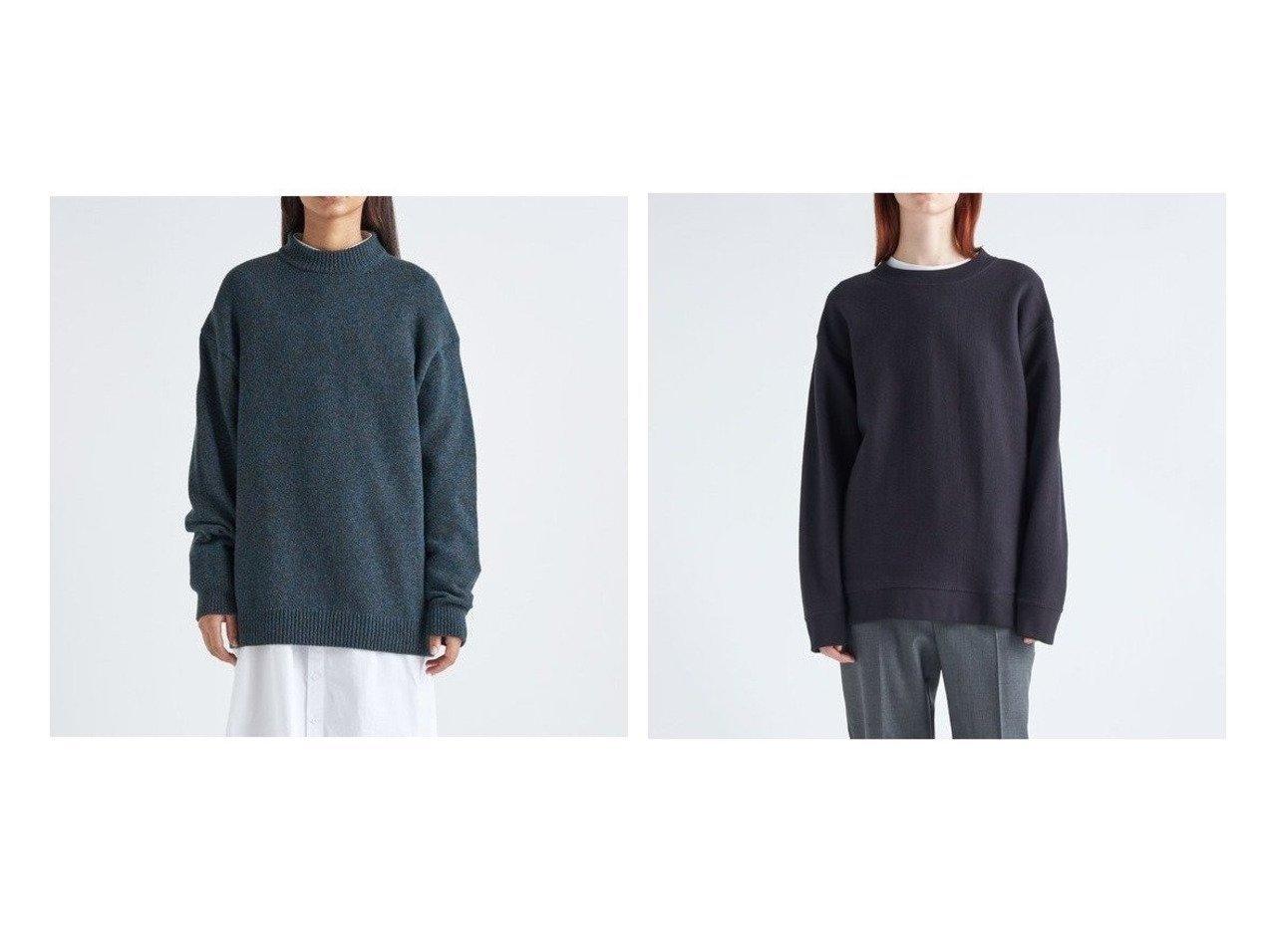 【ATON/エイトン】のオーバーサイズスウェットシャツ(UNISEX)&オーバーサイズモックネックプルオーバー(UNISEX) トップス・カットソーのおすすめ!人気、トレンド・レディースファッションの通販 おすすめで人気の流行・トレンド、ファッションの通販商品 メンズファッション・キッズファッション・インテリア・家具・レディースファッション・服の通販 founy(ファニー) https://founy.com/ ファッション Fashion レディースファッション WOMEN トップス Tops Tshirt プルオーバー Pullover シャツ/ブラウス Shirts Blouses パーカ Sweats スウェット Sweat インナー セーター ダブル 定番 Standard モックネック UNISEX 送料無料 Free Shipping |ID:crp329100000011141