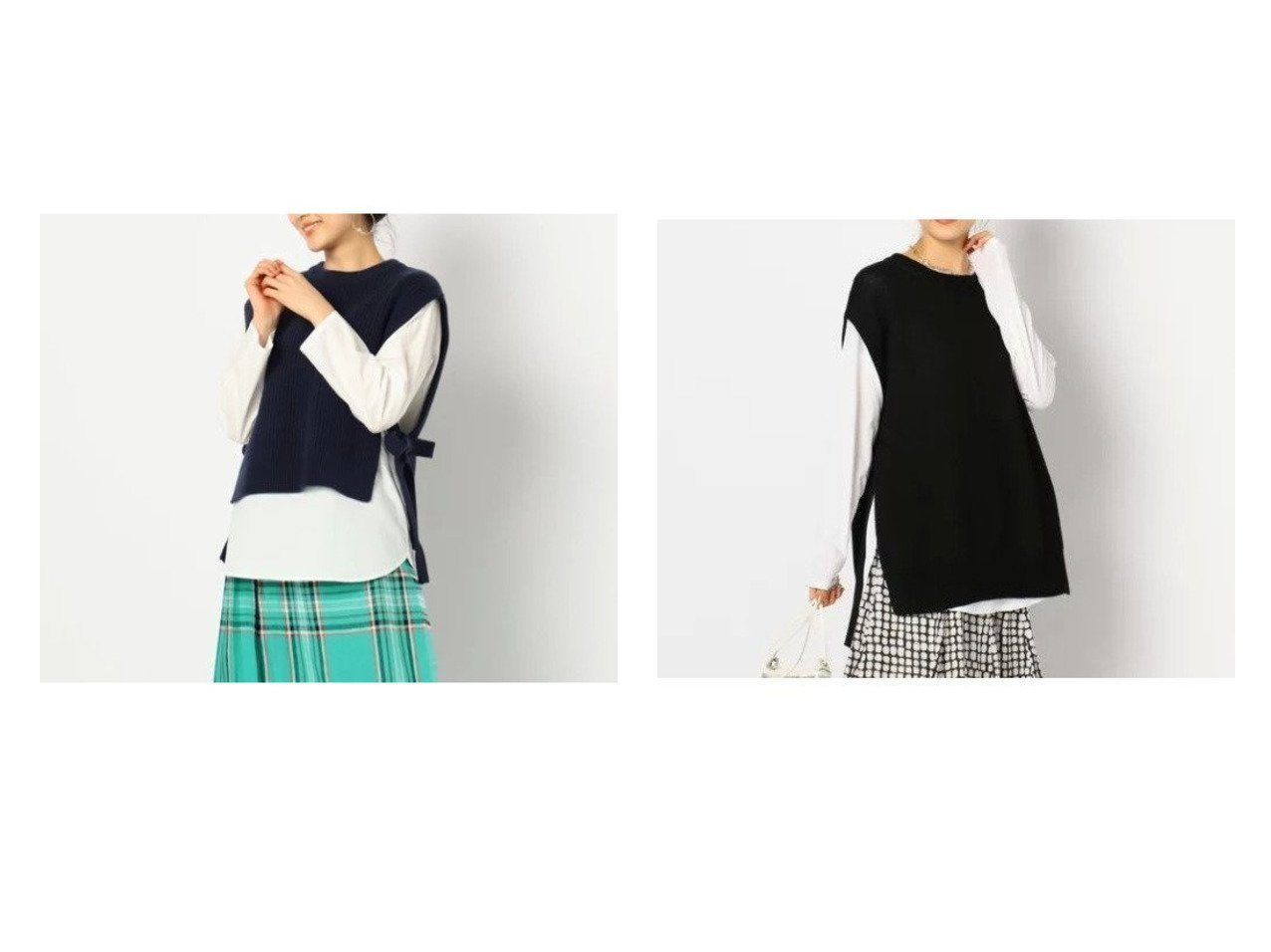 【NOLLEY'S/ノーリーズ】のギマコットン天竺ロングベスト&シャツ付きベスト トップス・カットソーのおすすめ!人気、トレンド・レディースファッションの通販 おすすめで人気の流行・トレンド、ファッションの通販商品 メンズファッション・キッズファッション・インテリア・家具・レディースファッション・服の通販 founy(ファニー) https://founy.com/ ファッション Fashion レディースファッション WOMEN アウター Coat Outerwear トップス Tops Tshirt シャツ/ブラウス Shirts Blouses ベスト/ジレ Gilets Vests インナー ベスト ワイド 畦 スリット ロング |ID:crp329100000011171