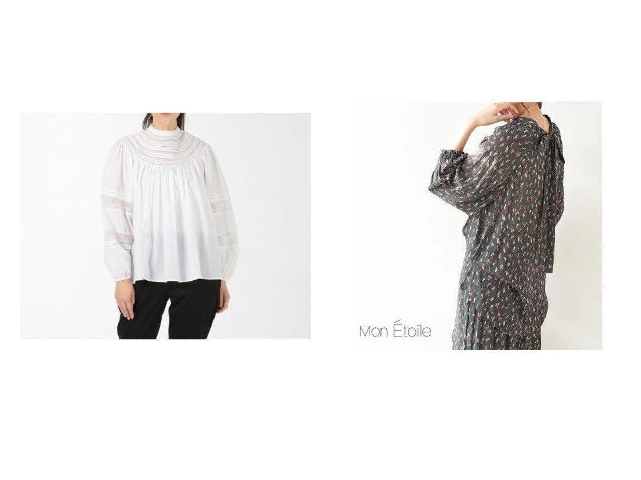【Rope Picnic/ロペピクニック】の【一部店舗限定】【Mon E toile】【セットアップ対応】【2WAY】ボウタイブラウス&【MICA & DEAL/マイカ ディール】のround lace blouse トップス・カットソーのおすすめ!人気、トレンド・レディースファッションの通販 おすすめで人気の流行・トレンド、ファッションの通販商品 メンズファッション・キッズファッション・インテリア・家具・レディースファッション・服の通販 founy(ファニー) https://founy.com/ ファッション Fashion レディースファッション WOMEN トップス Tops Tshirt シャツ/ブラウス Shirts Blouses セットアップ Setup トップス Tops インド デコルテ ハイネック ボトム レース 長袖 エレガント 春 Spring 秋 Autumn/Fall スクエア スリム スリーブ セットアップ ドレス ポケット レオパード |ID:crp329100000011173
