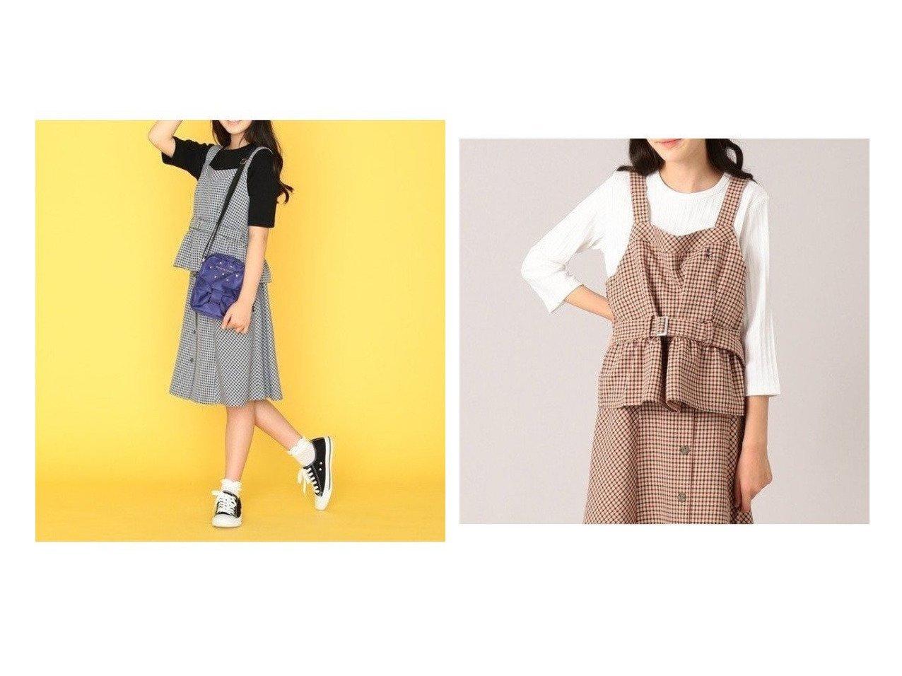 【KUMIKYOKU / KIDS/組曲】の【150-170cm】ウーリッシュチェック ビスチェ 【JUNIOR】子供服のおすすめ!人気トレンド・ティーンズファッションの通販  おすすめで人気の流行・トレンド、ファッションの通販商品 メンズファッション・キッズファッション・インテリア・家具・レディースファッション・服の通販 founy(ファニー) https://founy.com/ ファッション Fashion キッズファッション KIDS トップス Tops Tees Kids アンサンブル インナー カットソー セットアップ チェック テレコ ビスチェ フィット 送料無料 Free Shipping |ID:crp329100000011286