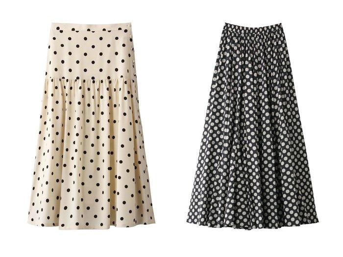 【martinique/マルティニーク】のポルカドットスカート&【MARIHA】月影のスカート スカートおすすめ!人気、トレンド・レディースファッションの通販 おすすめ人気トレンドファッション通販アイテム 人気、トレンドファッション・服の通販 founy(ファニー)  ファッション Fashion レディースファッション WOMEN スカート Skirt ロングスカート Long Skirt 2020年 2020 2020-2021 秋冬 A/W AW Autumn/Winter / FW Fall-Winter 2020-2021 2021年 2021 2021 春夏 S/S SS Spring/Summer 2021 エアリー ギャザー セットアップ ドット パーティ ロング 春 Spring A/W 秋冬 AW Autumn/Winter / FW Fall-Winter |ID:crp329100000011354
