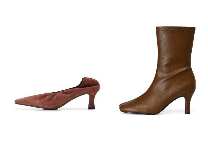 【Mila Owen/ミラオーウェン】の履き口ゴムフィットパンプス&ラウンドストレッチブーツ シューズ・靴のおすすめ!人気、トレンド・レディースファッションの通販 おすすめ人気トレンドファッション通販アイテム インテリア・キッズ・メンズ・レディースファッション・服の通販 founy(ファニー) https://founy.com/ ファッション Fashion レディースファッション WOMEN シューズ ショート ストレッチ バランス フィット フェイクレザー ミモレ 12月号 イエロー クラシカル スエード フレア  ID:crp329100000011394