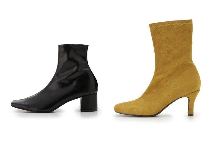 【Mila Owen/ミラオーウェン】のラウンドフィットブーツ&【SNIDEL/スナイデル】のスクエアショートブーツ シューズ・靴のおすすめ!人気、トレンド・レディースファッションの通販 おすすめファッション通販アイテム インテリア・キッズ・メンズ・レディースファッション・服の通販 founy(ファニー) https://founy.com/ ファッション Fashion レディースファッション WOMEN アニマル シューズ ショート センター フィット ベーシック 今季 12月号 シンプル スエード ストレッチ バランス フェイクスエード ラウンド  ID:crp329100000011395