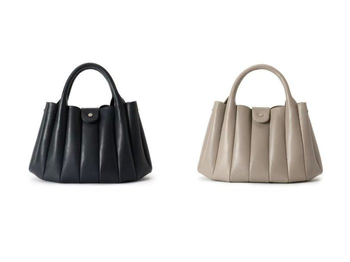 【HIROKO HAYASHI/ヒロコ ハヤシ】のLUCIDA(ルチダ)ハンドバッグ M バッグ・鞄のおすすめ!人気、トレンド・レディースファッションの通販 おすすめ人気トレンドファッション通販アイテム 人気、トレンドファッション・服の通販 founy(ファニー) ファッション Fashion レディースファッション WOMEN ハンドバッグ フォルム ポーチ 財布 |ID:crp329100000011407