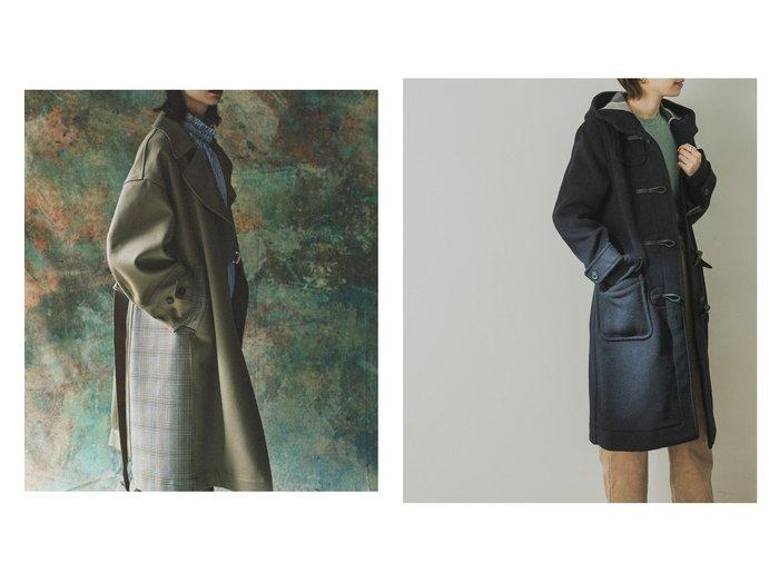 【URBAN RESEARCH/アーバンリサーチ】のLONDON TRADITIONダッフルコート&【FURFUR/ファーファー】のボンディングタイロッケンコート アウターのおすすめ!人気、トレンド・レディースファッションの通販 おすすめファッション通販アイテム レディースファッション・服の通販 founy(ファニー) ファッション Fashion レディースファッション WOMEN アウター Coat Outerwear コート Coats ジャケット Jackets ダッフルコート Duffle Coats ジャケット パターン ボンディング ミリタリー ダッフルコート ベーシック モダン |ID:crp329100000011448