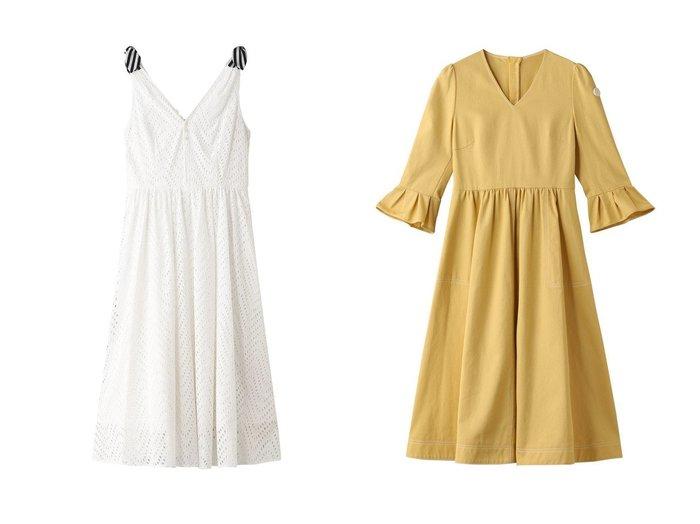 【BORDERS at BALCONY/ボーダーズ アット バルコニー】のカラードレス&ホワイトレースリボンドレス ワンピース・ドレスのおすすめ!人気、トレンド・レディースファッションの通販 おすすめ人気トレンドファッション通販アイテム 人気、トレンドファッション・服の通販 founy(ファニー)  ファッション Fashion レディースファッション WOMEN ワンピース Dress ドレス Party Dresses 2020年 2020 2020-2021 秋冬 A/W AW Autumn/Winter / FW Fall-Winter 2020-2021 2021年 2021 2021 春夏 S/S SS Spring/Summer 2021 ギャザー デコルテ ドレス バランス フェミニン ボトム レース ロング 春 Spring A/W 秋冬 AW Autumn/Winter / FW Fall-Winter |ID:crp329100000011462