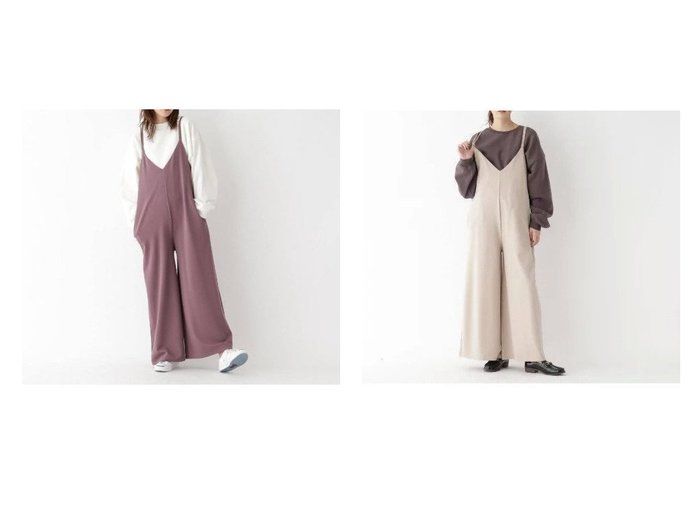 【BASE CONTROL/ベースコントロール】のストラップサロペット【WEB限定】 ワンピース・ドレスのおすすめ!人気、トレンド・レディースファッションの通販 おすすめファッション通販アイテム レディースファッション・服の通販 founy(ファニー) ファッション Fashion レディースファッション WOMEN ワンピース Dress サロペット Salopette サロペット ポケット ラップ ワイド |ID:crp329100000011480