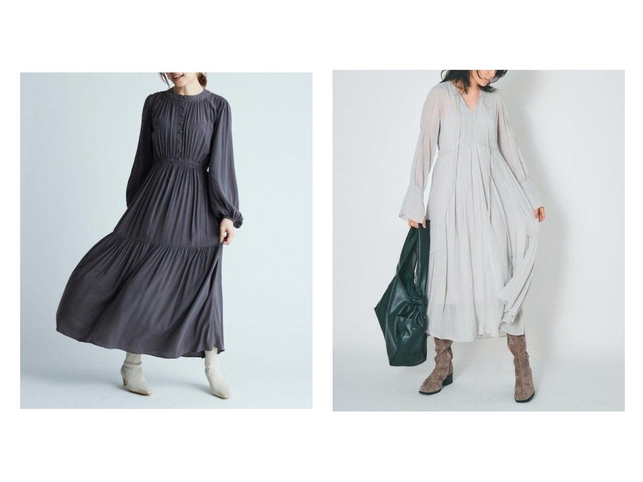 【FRAY I.D/フレイ アイディー】のシフォンロングワンピース&IPEKER フロントボタンギャザーワンピース ワンピース・ドレスのおすすめ!人気、トレンド・レディースファッションの通販 おすすめで人気の流行・トレンド、ファッションの通販商品 メンズファッション・キッズファッション・インテリア・家具・レディースファッション・服の通販 founy(ファニー) https://founy.com/ ファッション Fashion レディースファッション WOMEN ワンピース Dress マキシワンピース Maxi Dress 12月号 ギャザー シャーリング フロント マキシ ロング |ID:crp329100000011511