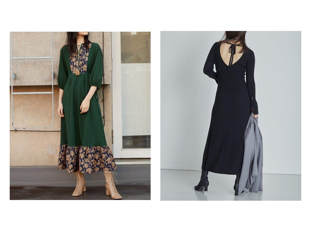 【Lily Brown/リリーブラウン】のジャガードスイッチングワンピース&【FRAY I.D/フレイ アイディー】のコルセットリブニットワンピ ワンピース・ドレスのおすすめ!人気、トレンド・レディースファッションの通販 おすすめで人気の流行・トレンド、ファッションの通販商品 メンズファッション・キッズファッション・インテリア・家具・レディースファッション・服の通販 founy(ファニー) https://founy.com/ ファッション Fashion レディースファッション WOMEN ワンピース Dress マキシワンピース Maxi Dress ニットワンピース Knit Dresses フロント ベロア マキシ リボン リラックス ロング ヴィンテージ 今季 12月号 コルセット コンシャス ドレス フレア |ID:crp329100000011514