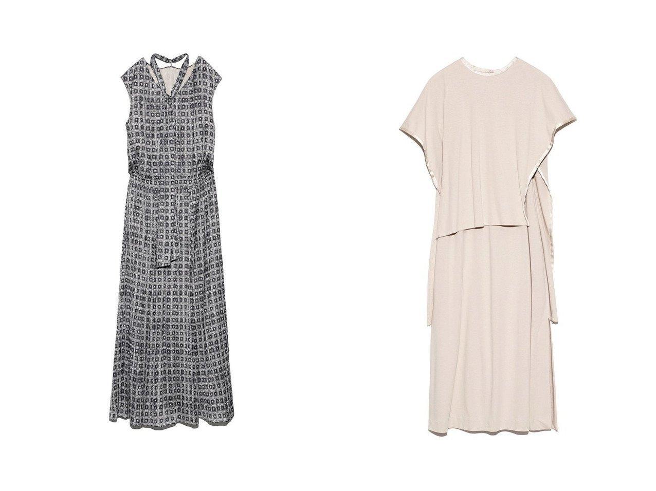 【FRAY I.D/フレイ アイディー】のパイピングケープワンピ&【Mila Owen/ミラオーウェン】の2wayノースリーブワッシャーボウタイワンピース ワンピース・ドレスのおすすめ!人気、トレンド・レディースファッションの通販 おすすめで人気の流行・トレンド、ファッションの通販商品 メンズファッション・キッズファッション・インテリア・家具・レディースファッション・服の通販 founy(ファニー) https://founy.com/ ファッション Fashion レディースファッション WOMEN ワンピース Dress カーディガン 今季 11月号 シャーリング ノースリーブ フィット プリント リボン ワッシャー アシンメトリー カッティング ジャージー ストレート スリット スリーブ セットアップ ドッキング パイピング リラックス |ID:crp329100000011518