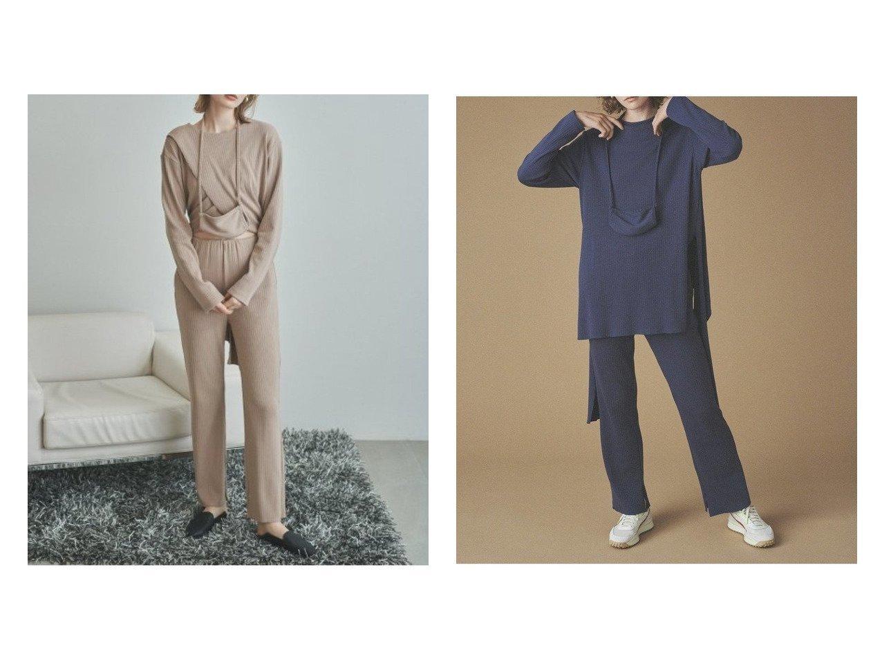 【emmi/エミ】の【emmi atelier】カットセットアップ ワンピース・ドレスのおすすめ!人気、トレンド・レディースファッションの通販 おすすめで人気の流行・トレンド、ファッションの通販商品 メンズファッション・キッズファッション・インテリア・家具・レディースファッション・服の通販 founy(ファニー) https://founy.com/ ファッション Fashion レディースファッション WOMEN トップス Tops Tshirt カットソー Cut and Sewn ウォッシャブル カットソー セットアップ 抗菌 |ID:crp329100000011522
