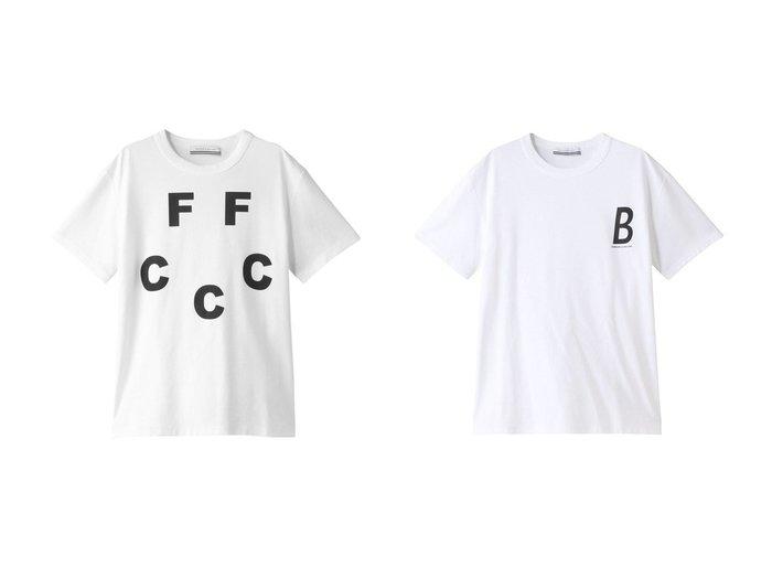 【BORDERS at BALCONY/ボーダーズ アット バルコニー】の【UNISEX】FFCCC Tシャツ&【UNISEX】ボーダーズTシャツ トップス・カットソーのおすすめ!人気、トレンド・レディースファッションの通販 おすすめ人気トレンドファッション通販アイテム 人気、トレンドファッション・服の通販 founy(ファニー) ファッション Fashion レディースファッション WOMEN トップス Tops Tshirt シャツ/ブラウス Shirts Blouses ロング / Tシャツ T-Shirts カットソー Cut and Sewn 2020年 2020 2020-2021 秋冬 A/W AW Autumn/Winter / FW Fall-Winter 2020-2021 2021年 2021 2021 春夏 S/S SS Spring/Summer 2021 UNISEX ショート スリーブ フロント ベーシック 春 Spring A/W 秋冬 AW Autumn/Winter / FW Fall-Winter |ID:crp329100000011525