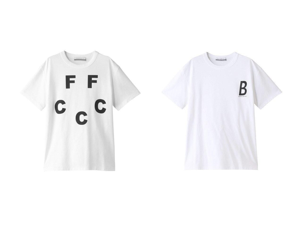 【BORDERS at BALCONY/ボーダーズ アット バルコニー】の【UNISEX】FFCCC Tシャツ&【UNISEX】ボーダーズTシャツ トップス・カットソーのおすすめ!人気、トレンド・レディースファッションの通販 おすすめで人気の流行・トレンド、ファッションの通販商品 メンズファッション・キッズファッション・インテリア・家具・レディースファッション・服の通販 founy(ファニー) https://founy.com/ ファッション Fashion レディースファッション WOMEN トップス Tops Tshirt シャツ/ブラウス Shirts Blouses ロング / Tシャツ T-Shirts カットソー Cut and Sewn 2020年 2020 2020-2021 秋冬 A/W AW Autumn/Winter / FW Fall-Winter 2020-2021 2021年 2021 2021 春夏 S/S SS Spring/Summer 2021 UNISEX ショート スリーブ フロント ベーシック 春 Spring A/W 秋冬 AW Autumn/Winter / FW Fall-Winter  ID:crp329100000011525