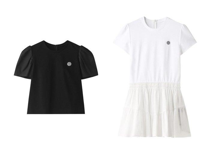 【BORDERS at BALCONY/ボーダーズ アット バルコニー】のシャツパフTシャツ&シャツギャザーTシャツ トップス・カットソーのおすすめ!人気、トレンド・レディースファッションの通販 おすすめファッション通販アイテム レディースファッション・服の通販 founy(ファニー) ファッション Fashion レディースファッション WOMEN トップス Tops Tshirt シャツ/ブラウス Shirts Blouses ロング / Tシャツ T-Shirts カットソー Cut and Sewn 2020年 2020 2020-2021 秋冬 A/W AW Autumn/Winter / FW Fall-Winter 2020-2021 2021年 2021 2021 春夏 S/S SS Spring/Summer 2021 コンパクト ショート スリーブ ボトム ボーダー 春 Spring A/W 秋冬 AW Autumn/Winter / FW Fall-Winter |ID:crp329100000011526
