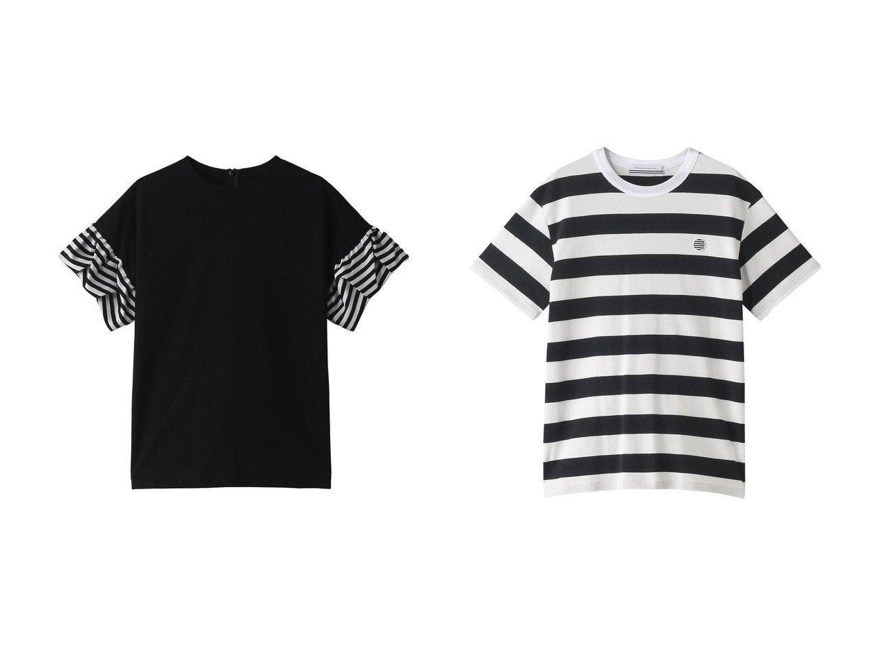 【BORDERS at BALCONY/ボーダーズ アット バルコニー】のゼリーTシャツ&【UNISEX】ボーダーTシャツ トップス・カットソーのおすすめ!人気、トレンド・レディースファッションの通販 おすすめで人気の流行・トレンド、ファッションの通販商品 メンズファッション・キッズファッション・インテリア・家具・レディースファッション・服の通販 founy(ファニー) https://founy.com/ ファッション Fashion レディースファッション WOMEN トップス Tops Tshirt シャツ/ブラウス Shirts Blouses ロング / Tシャツ T-Shirts カットソー Cut and Sewn 2020年 2020 2020-2021 秋冬 A/W AW Autumn/Winter / FW Fall-Winter 2020-2021 2021年 2021 2021 春夏 S/S SS Spring/Summer 2021 ショート スリーブ フォルム ボトム ボーダー 春 Spring A/W 秋冬 AW Autumn/Winter / FW Fall-Winter  ID:crp329100000011531