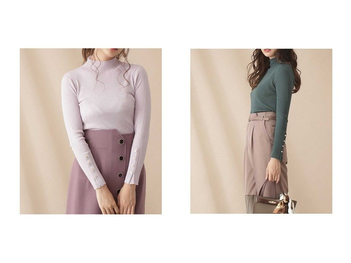 【PROPORTION BODY DRESSING/プロポーション ボディドレッシング】のウールリブハイネックニット トップス・カットソーのおすすめ!人気、トレンド・レディースファッションの通販 おすすめファッション通販アイテム レディースファッション・服の通販 founy(ファニー) ファッション Fashion レディースファッション WOMEN トップス Tops Tshirt ニット Knit Tops イタリア インナー コンパクト シアー シンプル ドット ハイネック フィット ワンポイント |ID:crp329100000011654