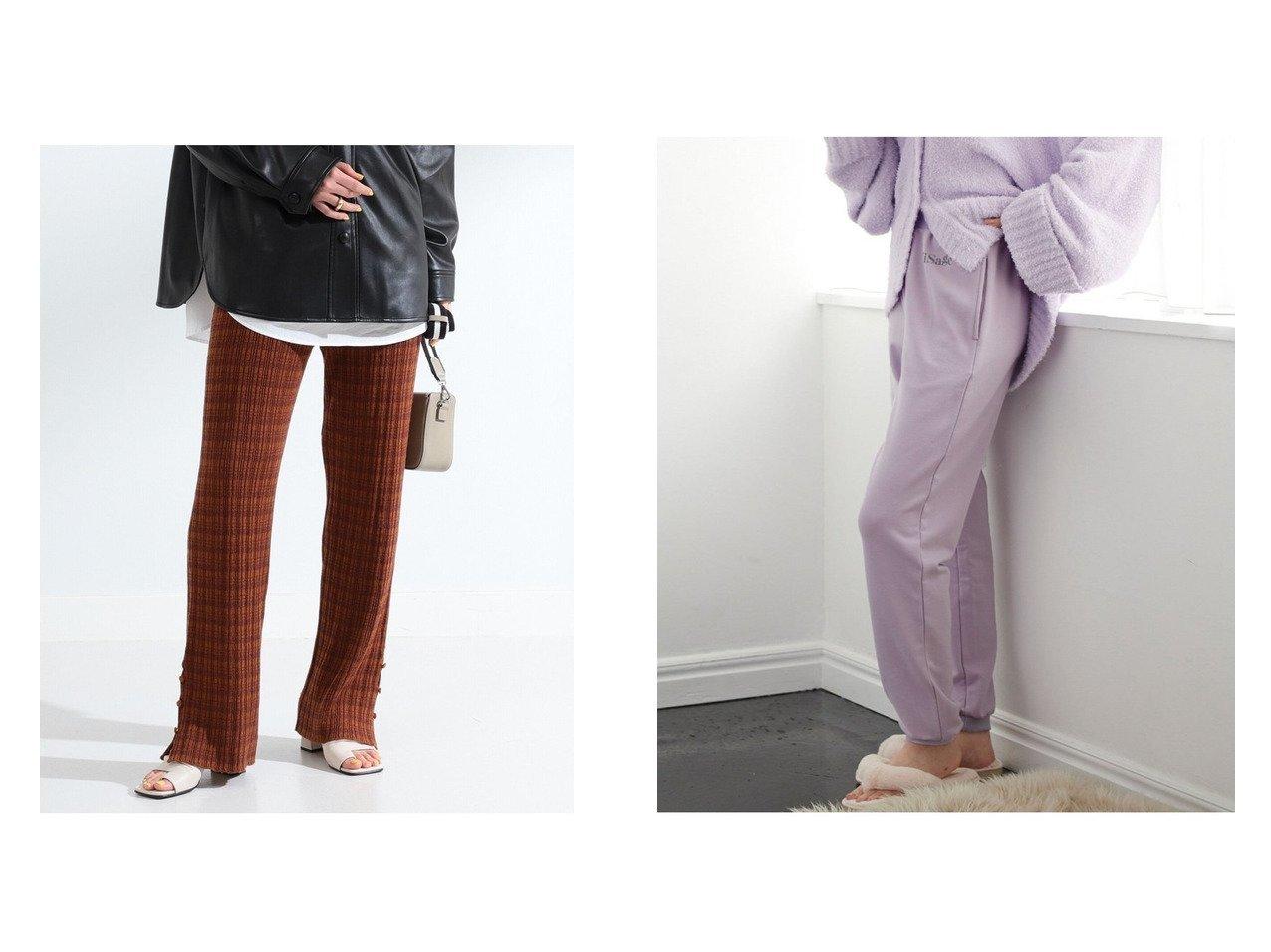 【VIS/ビス】の【ViSage】パウダー裏毛ジョグパンツ&【Ray BEAMS/レイ ビームス】のボーダー リブ ニット パンツ パンツのおすすめ!人気、トレンド・レディースファッションの通販 おすすめで人気の流行・トレンド、ファッションの通販商品 メンズファッション・キッズファッション・インテリア・家具・レディースファッション・服の通販 founy(ファニー) https://founy.com/ ファッション Fashion レディースファッション WOMEN パンツ Pants NEW・新作・新着・新入荷 New Arrivals ジーンズ パウダー ラベンダー リアル リラックス ボーダー ランダム 再入荷 Restock/Back in Stock/Re Arrival |ID:crp329100000011717