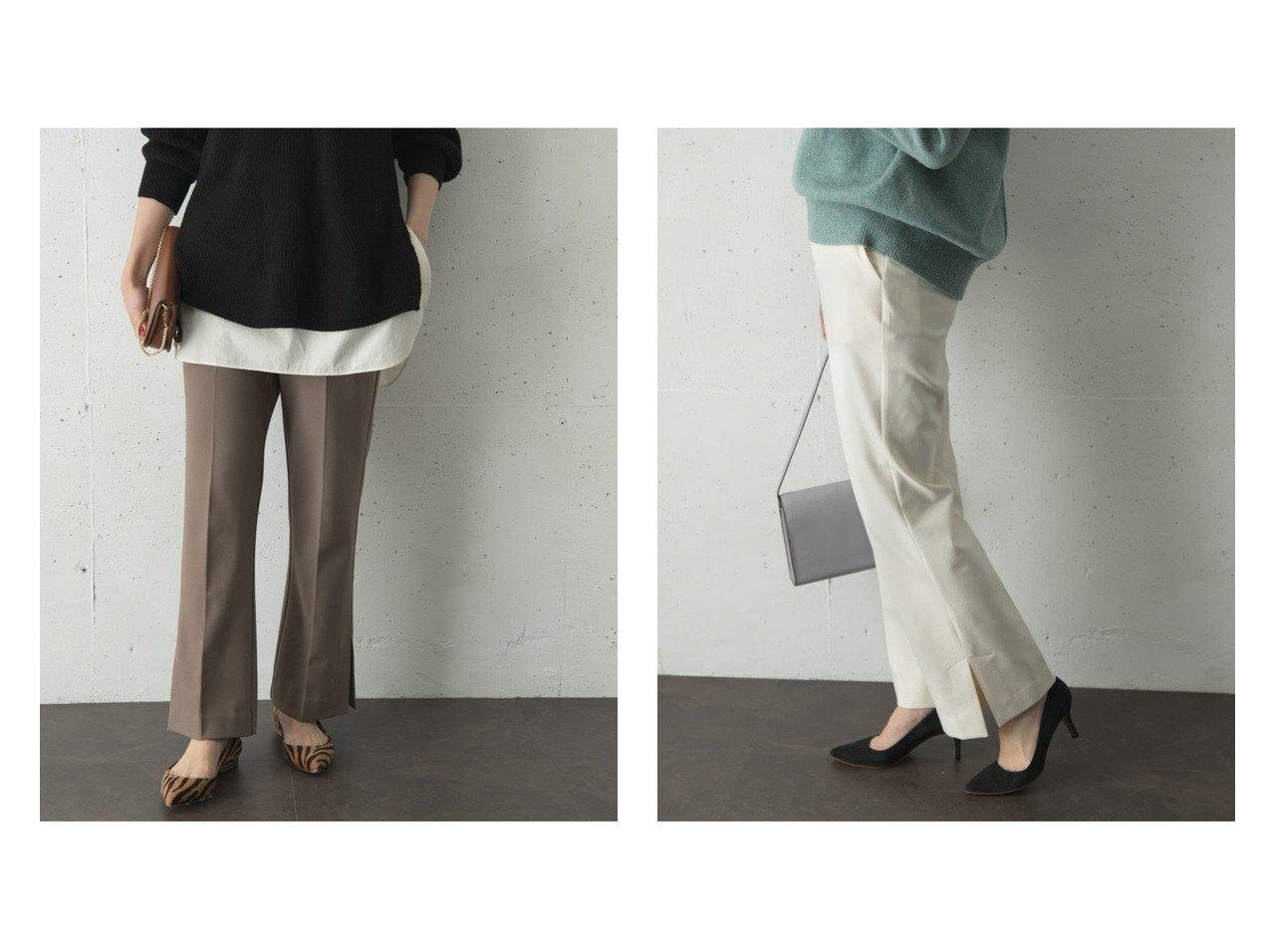 【URBAN RESEARCH ROSSO/アーバンリサーチ ロッソ】の後ろゴムセミフレアパンツ パンツのおすすめ!人気、トレンド・レディースファッションの通販 おすすめで人気の流行・トレンド、ファッションの通販商品 メンズファッション・キッズファッション・インテリア・家具・レディースファッション・服の通販 founy(ファニー) https://founy.com/ ファッション Fashion レディースファッション WOMEN パンツ Pants NEW・新作・新着・新入荷 New Arrivals シンプル ジーンズ スリット センター フレア ポケット |ID:crp329100000011727
