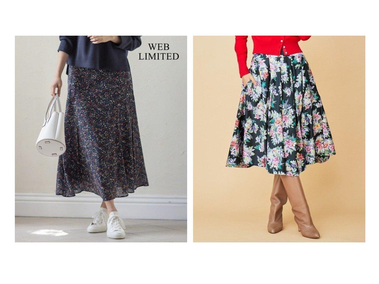 【KUMIKYOKU/組曲】の【洗える】LIBERTY マーメイド スカート&【Rythme KUMIKYOKU】クリスマスローズ プリントサテン フレアスカート スカートのおすすめ!人気、トレンド・レディースファッションの通販 おすすめで人気の流行・トレンド、ファッションの通販商品 メンズファッション・キッズファッション・インテリア・家具・レディースファッション・服の通販 founy(ファニー) https://founy.com/ ファッション Fashion レディースファッション WOMEN スカート Skirt Aライン/フレアスカート Flared A-Line Skirts カーディガン コレクション サテン フラワー フレア プリント モチーフ ローズ 冬 Winter 2021年 2021 S/S 春夏 SS Spring/Summer 2021 春夏 S/S SS Spring/Summer 2021 送料無料 Free Shipping |ID:crp329100000011743