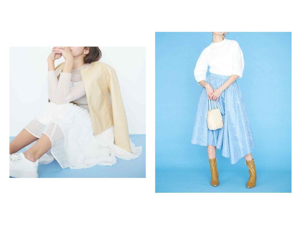 【CELFORD/セルフォード】のラッフルシアーチェックスカート&ラインフラワ-プリントスカート スカートのおすすめ!人気、トレンド・レディースファッションの通販 おすすめで人気の流行・トレンド、ファッションの通販商品 メンズファッション・キッズファッション・インテリア・家具・レディースファッション・服の通販 founy(ファニー) https://founy.com/ ファッション Fashion レディースファッション WOMEN スカート Skirt ミニスカート Mini Skirts NEW・新作・新着・新入荷 New Arrivals アシンメトリー コンパクト シアー シャドー ショート チェック フィット プリーツ ラッフル 再入荷 Restock/Back in Stock/Re Arrival |ID:crp329100000011754