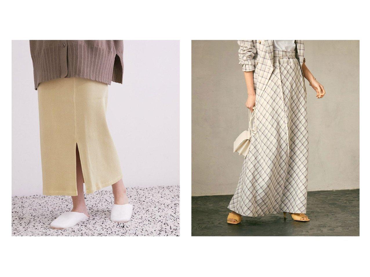 【ROPE/ロペ】の【セット対応】リネンマキシ巻きスカート&【SALON adam et rope/サロン アダム エ ロペ】の【セットアップ対応】ヴィンテージライクリブタイトスカート スカートのおすすめ!人気、トレンド・レディースファッションの通販 おすすめで人気の流行・トレンド、ファッションの通販商品 メンズファッション・キッズファッション・インテリア・家具・レディースファッション・服の通販 founy(ファニー) https://founy.com/ ファッション Fashion レディースファッション WOMEN スカート Skirt セットアップ Setup スカート Skirt ジャケット スリット チェック ポケット マキシ リネン リラックス NEW・新作・新着・新入荷 New Arrivals イエロー セットアップ タイツ パーカー ヴィンテージ 冬 Winter |ID:crp329100000011755