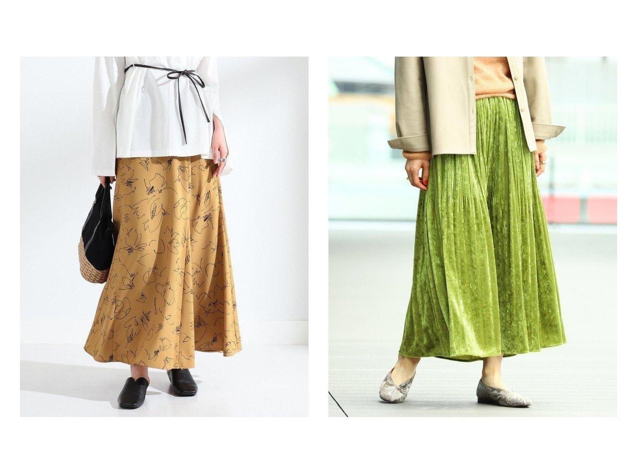 【Ray BEAMS/レイ ビームス】のクラッシュ ベロア プリーツスカート&プリント フレア マキシスカート スカートのおすすめ!人気、トレンド・レディースファッションの通販 おすすめで人気の流行・トレンド、ファッションの通販商品 メンズファッション・キッズファッション・インテリア・家具・レディースファッション・服の通販 founy(ファニー) https://founy.com/ ファッション Fashion レディースファッション WOMEN スカート Skirt プリーツスカート Pleated Skirts ロングスカート Long Skirt カットソー ギャザー クラッシュ プリーツ ベロア ロング A/W 秋冬 AW Autumn/Winter / FW Fall-Winter NEW・新作・新着・新入荷 New Arrivals とろみ トレンド フレア プリント マキシ 再入荷 Restock/Back in Stock/Re Arrival |ID:crp329100000011763