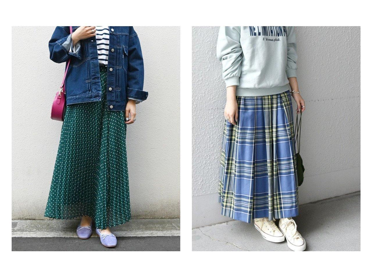 【SHIPS any/シップス エニィ】のSHIPS any ドット プリーツスカート&SHIPS any ランダムタック チェック ソフト フレアスカート スカートのおすすめ!人気、トレンド・レディースファッションの通販 おすすめで人気の流行・トレンド、ファッションの通販商品 メンズファッション・キッズファッション・インテリア・家具・レディースファッション・服の通販 founy(ファニー) https://founy.com/ ファッション Fashion レディースファッション WOMEN スカート Skirt Aライン/フレアスカート Flared A-Line Skirts ロングスカート Long Skirt プリーツスカート Pleated Skirts NEW・新作・新着・新入荷 New Arrivals コンパクト チェック フレア ランダム ロング 再入荷 Restock/Back in Stock/Re Arrival 春 Spring 無地 ショート ドット プリント プリーツ |ID:crp329100000011765