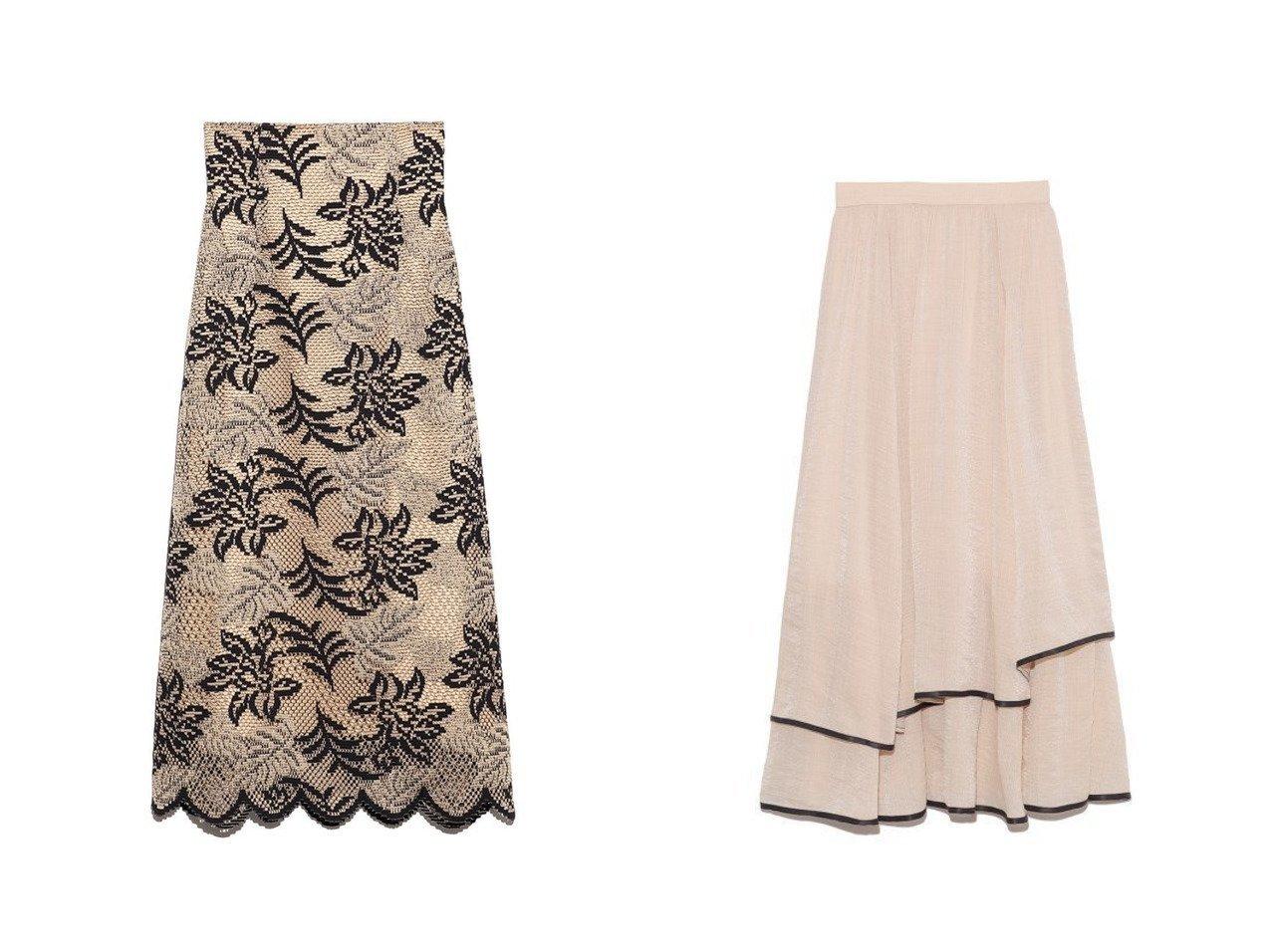 【Lily Brown/リリーブラウン】のバイカラーフラワーレーススカート&裾パイピングシフォンスカート スカートのおすすめ!人気、トレンド・レディースファッションの通販 おすすめで人気の流行・トレンド、ファッションの通販商品 メンズファッション・キッズファッション・インテリア・家具・レディースファッション・服の通販 founy(ファニー) https://founy.com/ ファッション Fashion レディースファッション WOMEN スカート Skirt ロングスカート Long Skirt シフォン スウェット スマート パイピング フレア ミックス ラベンダー ロング 再入荷 Restock/Back in Stock/Re Arrival エレガント スカラップ ハンド レース |ID:crp329100000011766