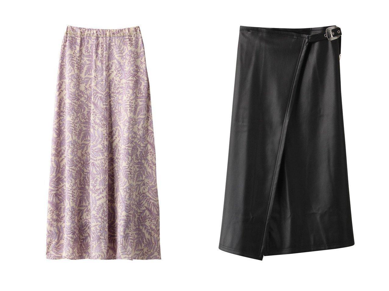 【martinique/マルティニーク】の【forte forte】ボタニカルプリントスカート&【SIMON MILLER】フェイクレザースカート スカートのおすすめ!人気、トレンド・レディースファッションの通販 おすすめで人気の流行・トレンド、ファッションの通販商品 メンズファッション・キッズファッション・インテリア・家具・レディースファッション・服の通販 founy(ファニー) https://founy.com/ ファッション Fashion レディースファッション WOMEN スカート Skirt ロングスカート Long Skirt クール ロング |ID:crp329100000011769