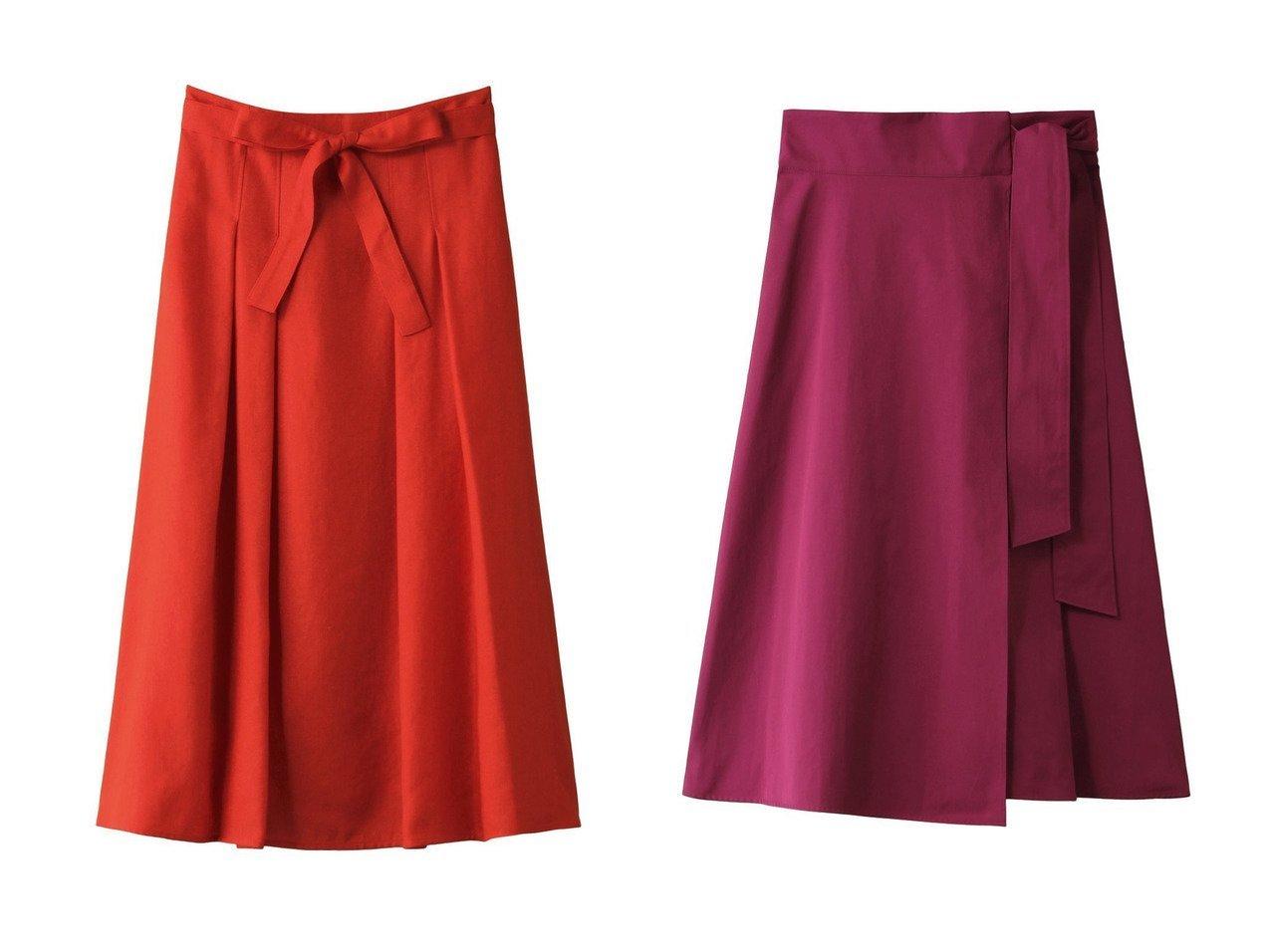 【ANAYI/アナイ】のスラブオックスフレアスカート&バイオツイルラップフウスカート スカートのおすすめ!人気、トレンド・レディースファッションの通販 おすすめで人気の流行・トレンド、ファッションの通販商品 メンズファッション・キッズファッション・インテリア・家具・レディースファッション・服の通販 founy(ファニー) https://founy.com/ ファッション Fashion レディースファッション WOMEN スカート Skirt Aライン/フレアスカート Flared A-Line Skirts シンプル フェミニン ラップ リボン |ID:crp329100000011770