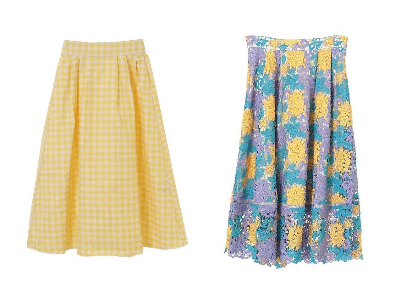 【31 Sons de mode/トランテアン ソン ドゥ モード】のリバーシブルギンガムチェックスカート&ケミカルレースフレアスカート スカートのおすすめ!人気、トレンド・レディースファッションの通販 おすすめで人気の流行・トレンド、ファッションの通販商品 メンズファッション・キッズファッション・インテリア・家具・レディースファッション・服の通販 founy(ファニー) https://founy.com/ ファッション Fashion レディースファッション WOMEN スカート Skirt Aライン/フレアスカート Flared A-Line Skirts 2020年 2020 2020-2021 秋冬 A/W AW Autumn/Winter / FW Fall-Winter 2020-2021 2021年 2021 2021 春夏 S/S SS Spring/Summer 2021 シンプル フラワー フレア 春 Spring A/W 秋冬 AW Autumn/Winter / FW Fall-Winter |ID:crp329100000011771