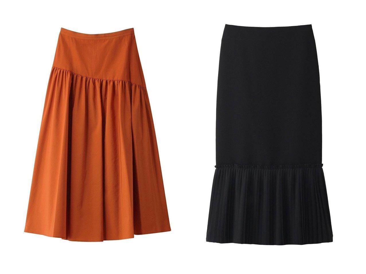 【ANAYI/アナイ】のタイプライターティアードスカート&【GALLARDAGALANTE/ガリャルダガランテ】の【CEPIE.】ヘムプリーツロングスカート スカートのおすすめ!人気、トレンド・レディースファッションの通販 おすすめで人気の流行・トレンド、ファッションの通販商品 メンズファッション・キッズファッション・インテリア・家具・レディースファッション・服の通販 founy(ファニー) https://founy.com/ ファッション Fashion レディースファッション WOMEN スカート Skirt ロングスカート Long Skirt ティアードスカート Tiered Skirts なめらか ガーリー シンプル プリーツ ベーシック ミックス アシンメトリー エレガント タイプライター ティアードスカート ロング 人気 |ID:crp329100000011775