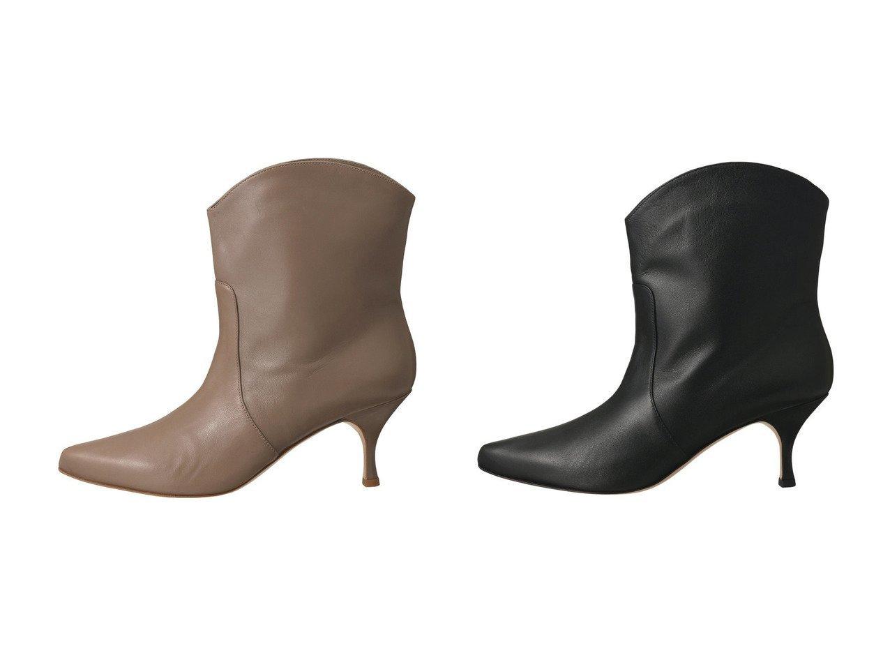 【martinique/マルティニーク】の【NEBLONI E】ブーティー シューズ・靴のおすすめ!人気、トレンド・レディースファッションの通販 おすすめで人気の流行・トレンド、ファッションの通販商品 メンズファッション・キッズファッション・インテリア・家具・レディースファッション・服の通販 founy(ファニー) https://founy.com/ ファッション Fashion レディースファッション WOMEN なめらか トレンド ミドル |ID:crp329100000011791