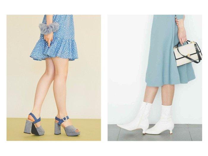 【CELFORD/セルフォード】のストレッチショートブーツ&【31 Sons de mode/トランテアン ソン ドゥ モード】のフェイクスエードビジューサンダル シューズ・靴のおすすめ!人気、トレンド・レディースファッションの通販 おすすめファッション通販アイテム レディースファッション・服の通販 founy(ファニー) ファッション Fashion レディースファッション WOMEN NEW・新作・新着・新入荷 New Arrivals シューズ ショート ストレッチ バランス フェイクレザー ミドル 再入荷 Restock/Back in Stock/Re Arrival 春 Spring 2021年 2021 2021 春夏 S/S SS Spring/Summer 2021 S/S 春夏 SS Spring/Summer サンダル ソックス フェイクスウェード ミュール |ID:crp329100000011794