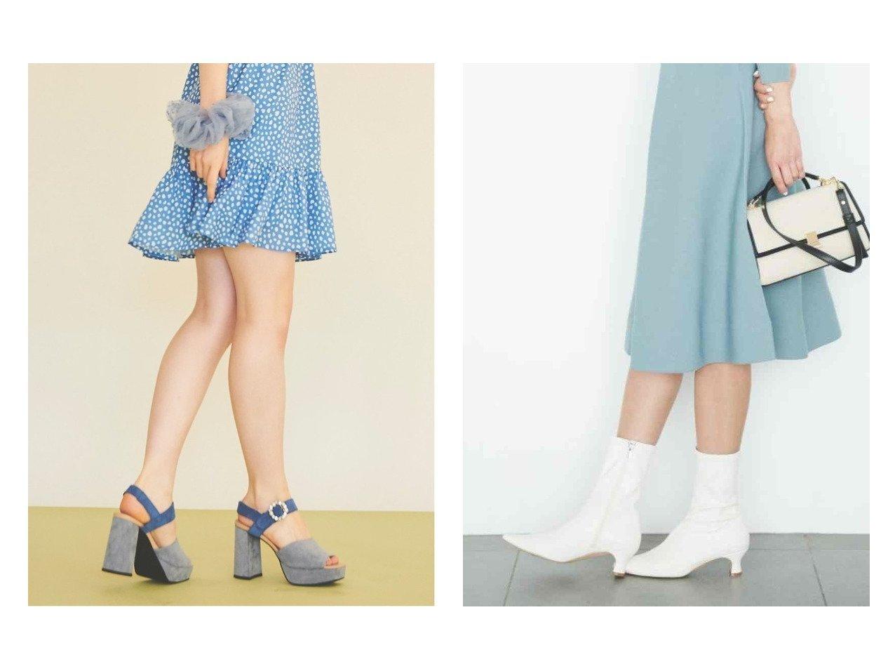 【CELFORD/セルフォード】のストレッチショートブーツ&【31 Sons de mode/トランテアン ソン ドゥ モード】のフェイクスエードビジューサンダル シューズ・靴のおすすめ!人気、トレンド・レディースファッションの通販 おすすめで人気の流行・トレンド、ファッションの通販商品 メンズファッション・キッズファッション・インテリア・家具・レディースファッション・服の通販 founy(ファニー) https://founy.com/ ファッション Fashion レディースファッション WOMEN NEW・新作・新着・新入荷 New Arrivals シューズ ショート ストレッチ バランス フェイクレザー ミドル 再入荷 Restock/Back in Stock/Re Arrival 春 Spring 2021年 2021 2021 春夏 S/S SS Spring/Summer 2021 S/S 春夏 SS Spring/Summer サンダル ソックス フェイクスウェード ミュール |ID:crp329100000011794