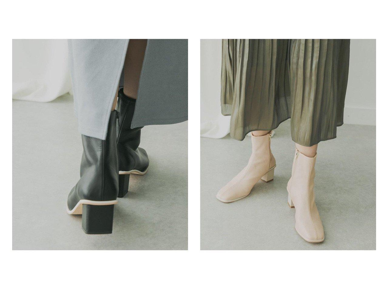 【KBF / URBAN RESEARCH/ケービーエフ】のKBF+ スクエアトゥストレッチブーツ シューズ・靴のおすすめ!人気、トレンド・レディースファッションの通販 おすすめで人気の流行・トレンド、ファッションの通販商品 メンズファッション・キッズファッション・インテリア・家具・レディースファッション・服の通販 founy(ファニー) https://founy.com/ ファッション Fashion レディースファッション WOMEN NEW・新作・新着・新入荷 New Arrivals シューズ ショート スクエア 春 Spring |ID:crp329100000011795