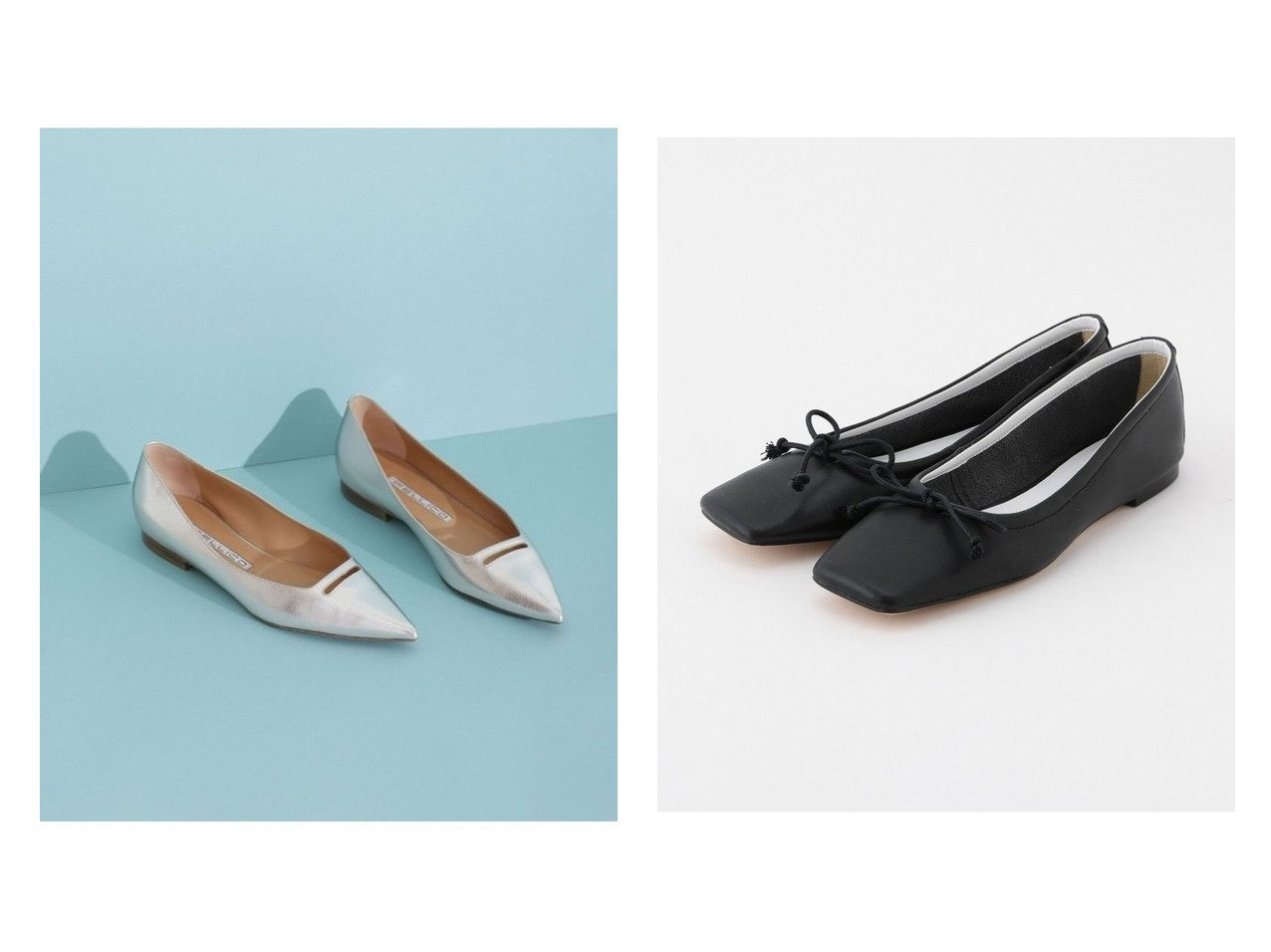 【PELLICO/ペリーコ】のANELLI ポインテッドフラットパンプス&【ROPE/ロペ】のスクエアトゥバレエシューズ シューズ・靴のおすすめ!人気、トレンド・レディースファッションの通販 おすすめで人気の流行・トレンド、ファッションの通販商品 メンズファッション・キッズファッション・インテリア・家具・レディースファッション・服の通販 founy(ファニー) https://founy.com/ ファッション Fashion レディースファッション WOMEN イタリア シューズ シルバー 人気 フォルム フラット 再入荷 Restock/Back in Stock/Re Arrival NEW・新作・新着・新入荷 New Arrivals スクエア バレエ |ID:crp329100000011800