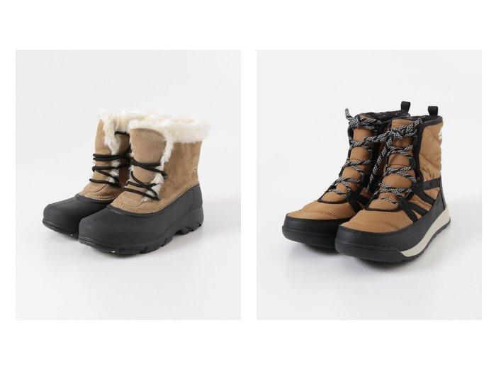 【URBAN RESEARCH DOORS/アーバンリサーチ ドアーズ】のSOREL WHITNEY ll SHORT LACE&SOREL SNOW ANGEL LACE シューズ・靴のおすすめ!人気、トレンド・レディースファッションの通販 おすすめファッション通販アイテム インテリア・キッズ・メンズ・レディースファッション・服の通販 founy(ファニー) https://founy.com/ ファッション Fashion レディースファッション WOMEN キルティング シューズ ショート スエード スタンダード フィット フェルト ボトム ライニング ラバー  ID:crp329100000011804